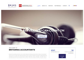 Britannia Accountants - Website