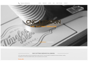 CNC London - Website