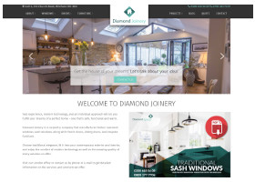 Diamond Joinery - Website