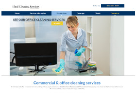 London Offices Cleaning - Website