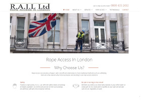Rope Access in London - Website