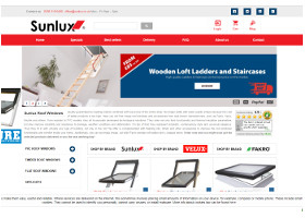 Sunlux Roof Windows - Website